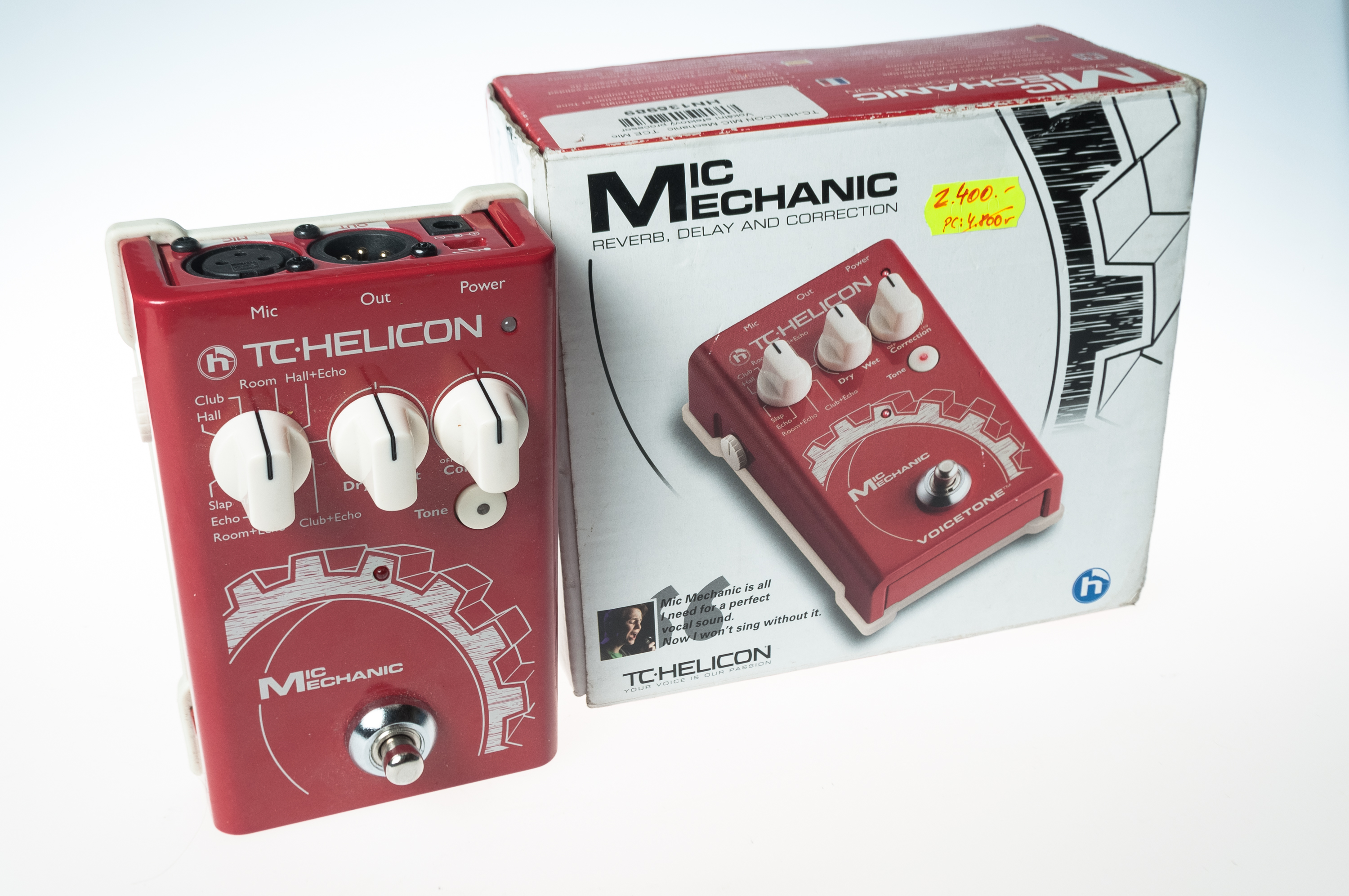 Mic Mechanik TC Helicon efekty zpěv